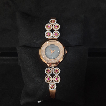 FANCY ROSE GOLD LADIES WATCH