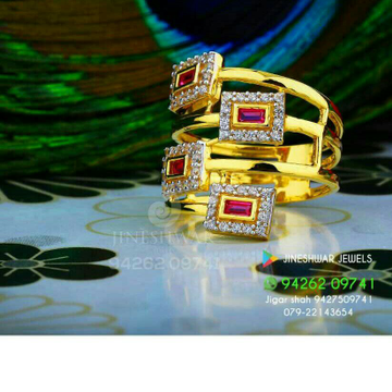 Special Occation Were Cz Ladies Ring LRG -0262