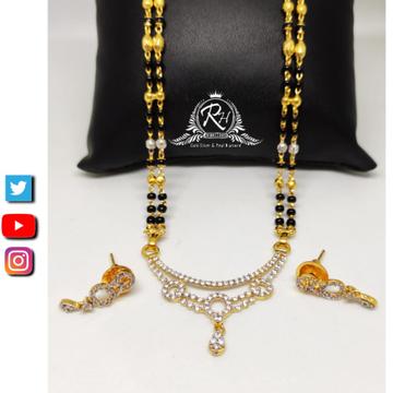 22 carat gold the best designs mangalsutra RH-MS405