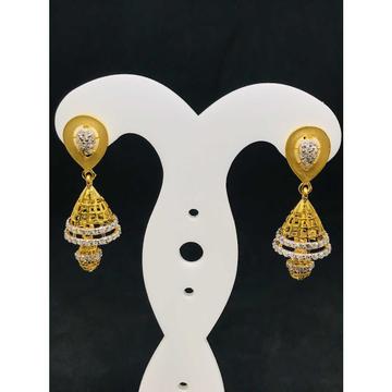 916 Ladies Fancy Gold Earring Er-60015