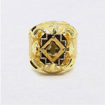 Lightweight Nazrana Gold Ring For Men by