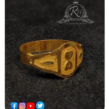22 carat gold fancy kids rings RH-KR433