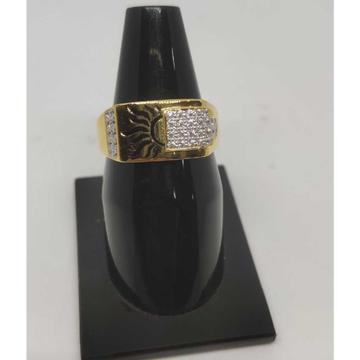 916 Gents Fancy Gold Ring Gr-28600