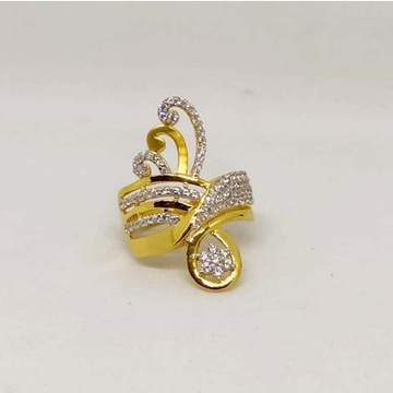 22 k Gold Fancy Ring. NJ-R01007
