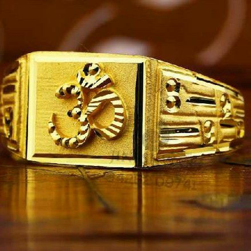 Traditional gents ring