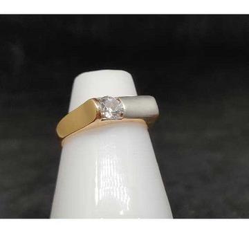 18k Ladies Rose Gold Ring