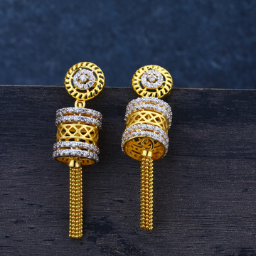 Ladies Jummar Traditional Earring 22k-LJE48