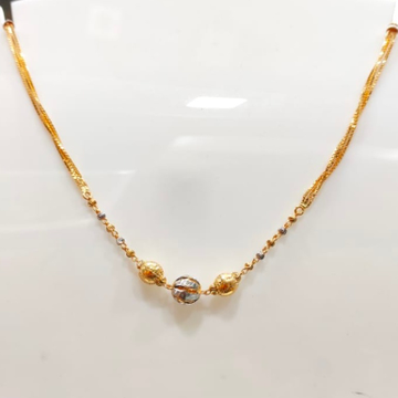 22 Carat gold LADIES RODIAM CHAIN RH_GR118