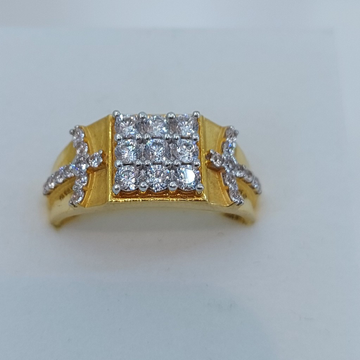 Gents Diamond F. Ring by