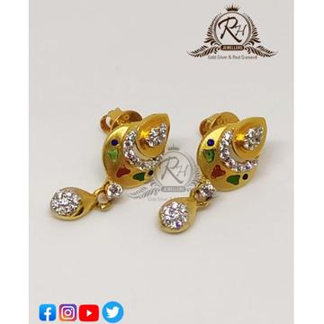 22 carat gold fancy butti RH-ER626