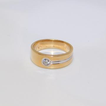 18K gold diamond ring agj-lr-59