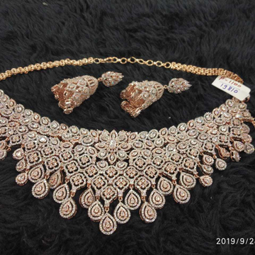 diamond bridal necklace#418