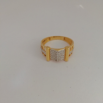 916 gold Gents ring by Vinayak Gold