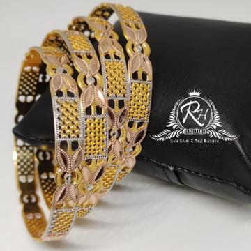 18 carat gold 4 pic ladies bangles kada Rh-Lr910