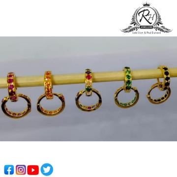 18 carat gold fancy earrings RH-ER565