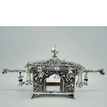 92.5 Silver Ethnic Design Doli  by