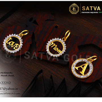 916 gold pendants SGP-0019