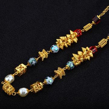 Ladies 916 Gold Moti Mala-AC06