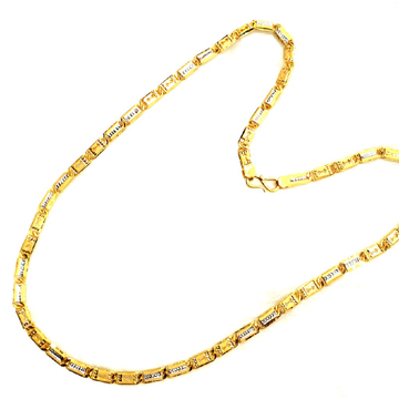 One gram gold forming chain mga - gf007