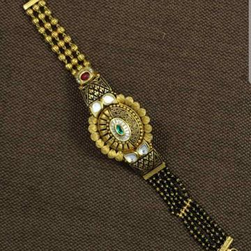 Antique jadtar handy bracelet Mangalsutra