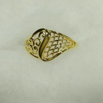 916 Plain Casting Ladies Ring