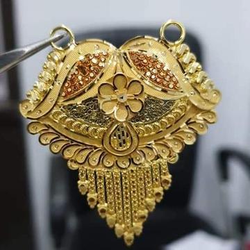 22 carat gold ladies mangalsutra  RH-MS323