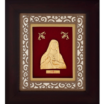916 Gold Mother Marry Photo Frame AJ-14