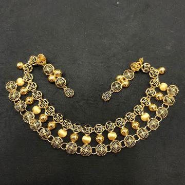 916 Gold Designer Turkish Necklace by