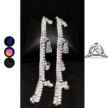 silver baccha payal RH-BP463