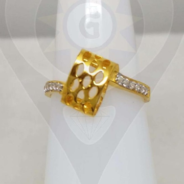 22KT Gold Simple Design Ring  by Parshwa Jewellers