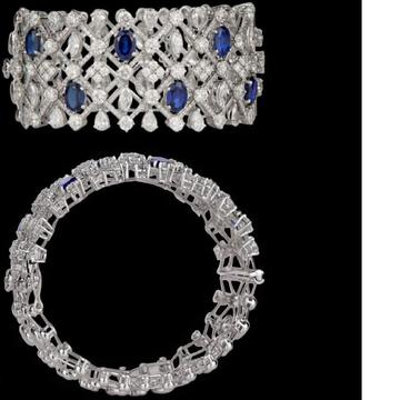 Diamonds and Blue Sapphires KadaJSJ0113