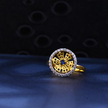 22kt Gold Designer Ladies Ring LR24
