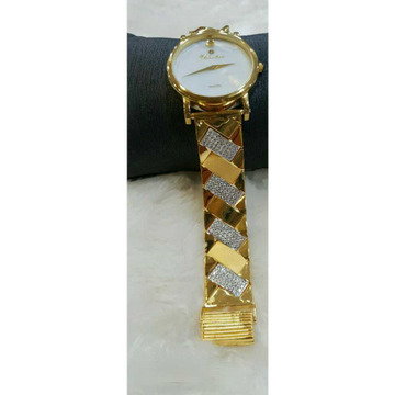 916 Gents Fancy Gold Watch G-1014