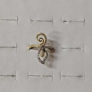 Designer 916 Gold Ladies Ring