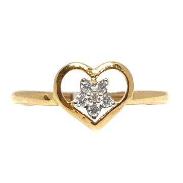 18k gold real diamond ring mga - rdr0044