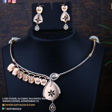 76 rose gold necklace set sgn-0008