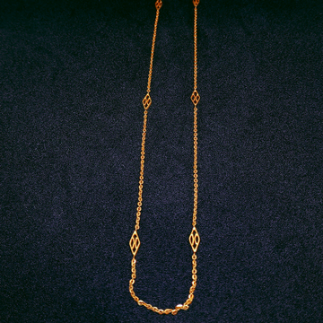 22K Gold Delicate Chain by Ghunghru Jewellers