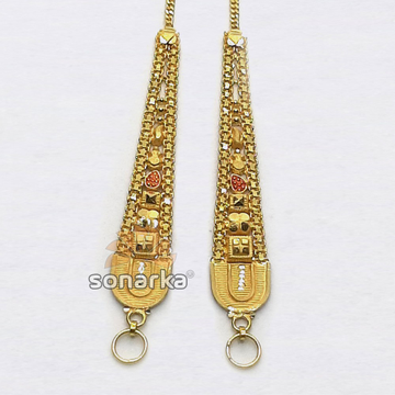 Gold Earchain SK - K030