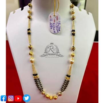 22 carat gold classical ladies mangalsutra RH-MN547