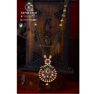 916 Gold Antique Mangalsutra AMG-023
