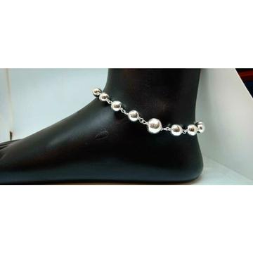 Silver Beads Style Payal