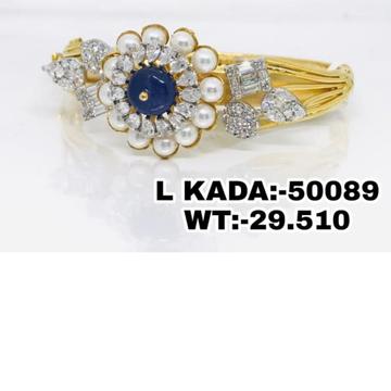 916 Gold Premium Classic Ladies Kada Brasclet RH-LB025