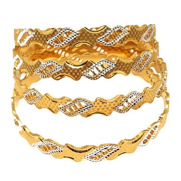 One gram gold forming bangles mga - gf0038