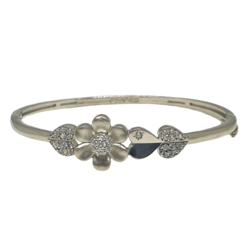 925 Sterling Silver Heart Shaped Designer Bracelet MGA - BRS1812