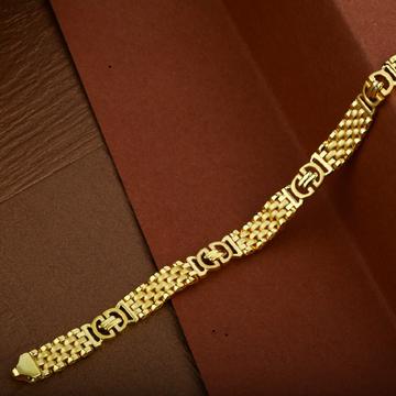 Mens Fancy Gold 22K Cartier Bracelet-MCRB10