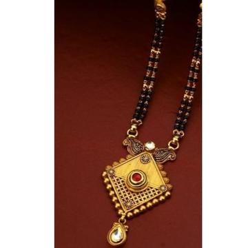 22 carat gold fancy ladies mangalsutra RH-LM471