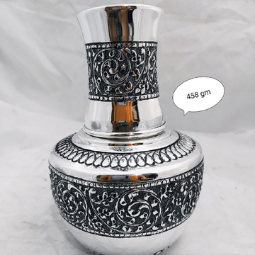 Silver decorative vase jys0015