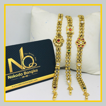 916 Gold Antique Bracelet NB - 1028