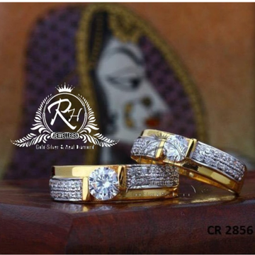 22 carat gold single stone rings RH-CR806