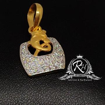 22 carat gold fancy daimond pendal RH-PL495